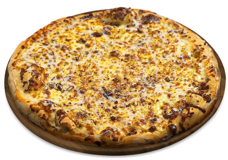 Nozes com queijo